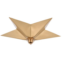 ELK 1SC-SB Pendant Options Satin Brass Canopy, Star
