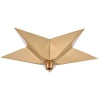ELK 1SC-SB Canopies Satin Brass Canopy Star
