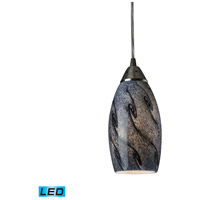 ELK Lighting Galaxy 1 Light Pendant Satin Nickel 20001/1SG-LED