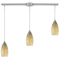 Galaxy 3 Light 36 inch Satin Nickel Pendant Ceiling Light