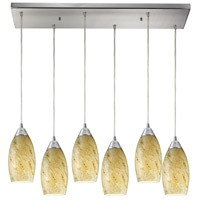 ELK Lighting Galaxy 6 Light Pendant in Satin Nickel 20001/6RC-CG