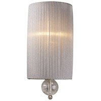 Alexis 1 Light 7 inch Antique Silver Sconce Wall Light