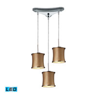 ELK Lighting Fabrique 3 Light Pendant in Polished Chrome 20030/3-LED