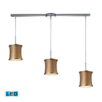 ELK Lighting Fabrique 3 Light Pendant in Polished Chrome 20030/3L-LED