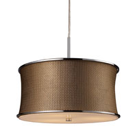 ELK Lighting Fabrique 3 Light Pendant in Polished Chrome 20031/3