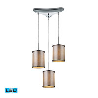 ELK Lighting Fabrique 3 Light Pendant in Polished Chrome 20042/3-LED
