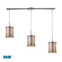 ELK Lighting Fabrique 3 Light Pendant in Polished Chrome 20042/3L-LED