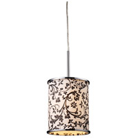 FABRIQUE 1 Light 8 inch Polished Chrome Pendant Ceiling Light