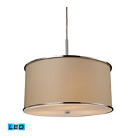 ELK Lighting Fabrique 3 Light Pendant in Polished Chrome 20056/3-LED