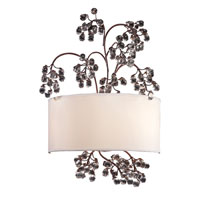 Winterberry 2 Light 14 inch Antique Darkwood Sconce Wall Light