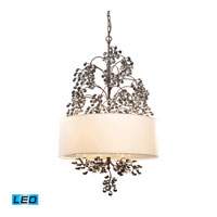 Winterberry LED 22 inch Antique Darkwood Chandelier Ceiling Light