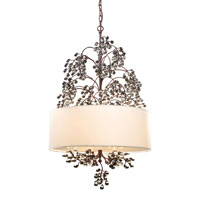 Winterberry 4 Light 22 inch Antique Darkwood Chandelier Ceiling Light in Standard