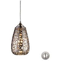 ELK Lighting Nestor 1 Light Pendant in Chrome 20064/1-LA
