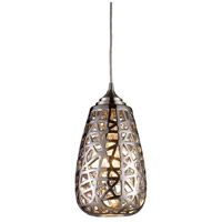 ELK Lighting Nestor 1 Light Pendant in Chrome 20064/1