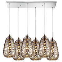 ELK Lighting Nestor 6 Light Pendant in Polished Chrome 20064/6RC