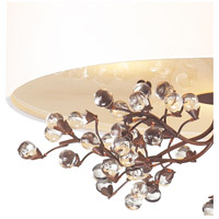 ELK 20089/3 Winterberry 3 Light 16 inch Antique Darkwood Semi Flush Mount Ceiling Light in Standard  alternative photo thumbnail