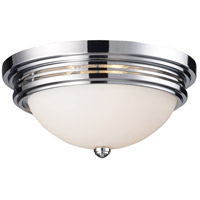 ELK Lighting Flushmount 2 Light Flush Mount in Polished Chrome 20106/2