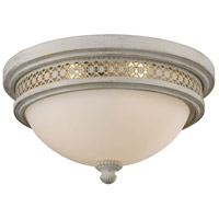 ELK Lighting Signature 2 Light Flush Mount in Antique White 20110/2