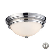 ELK Lighting Signature 2 Light Flush Mount in Polished Chrome 20130/2-LA