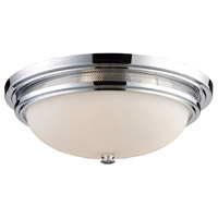 ELK 20131/3 Flushmounts 3 Light 16 inch Polished Chrome Flush Mount Ceiling Light