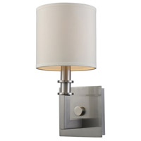 Seven Springs 1 Light 6 inch Satin Nickel Wall Sconce Wall Light