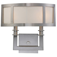 Seven Springs 2 Light 14 inch Satin Nickel Sconce Wall Light, Trump Home