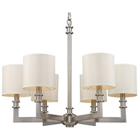 ELK Lighting Seven Springs 6 Light Chandelier in Satin Nickel 20155/6