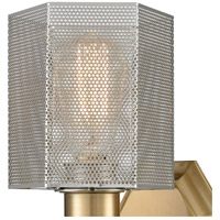 ELK 21110/1 Compartir 1 Light 5 inch Polished Nickel with Satin Brass Wall Sconce Wall Light alternative photo thumbnail
