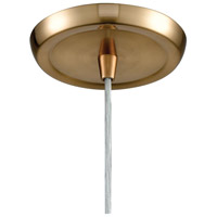 ELK 21112/1 Compartir 1 Light 6 inch Polished Nickel with Satin Brass Pendant Ceiling Light alternative photo thumbnail