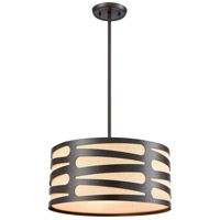 ELK 21123/3 Alton 3 Light 16 inch Oil Rubbed Bronze Pendant Ceiling Light