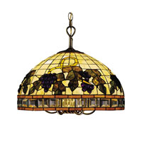 ELK Lighting Classic Tiffany 5 Light Chandelier in Tiffany Bronze 212-TB