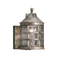 ELK Lighting Barnstable 1 Light Outdoor Sconce in Olde Bay 2130-WB