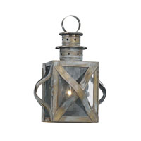 ELK Lighting Dune Road 1 Light Outdoor Sconce in Olde Bay 2140-WB
