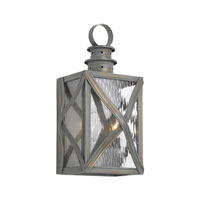 ELK Lighting Dune Road 2 Light Outdoor Sconce in Olde Bay 2141-WB