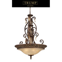 ELK Lighting Regency 5 Light Pendant in Burnt Bronze 2159/5