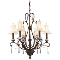 ELK Lighting Emilion 6 Light Chandelier in Burnt Bronze 2183/6 alternative photo thumbnail