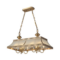 Conley 8 Light 32 inch Brushed Brass Island Ceiling Light