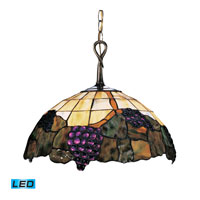 ELK Lighting Grapevine 1 Light Pendant in Vintage Antique 226-VA-LED