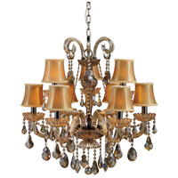 ELK Lighting Jolianne 9 Light Chandelier in Black Nickel 24002/6+3