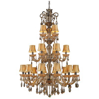ELK Lighting Jolianne 21 Light Chandelier in Black Nickel 24003/12+6+3