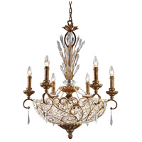 ELK Lighting Trump Home Mar-A-Lago Senecal 12 Light Chandelier in Spanish Bronze 2404/6+6