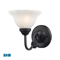ELK Lighting Buckingham 1 Light Wall Sconce in Matte Black 241-BK-LED photo thumbnail