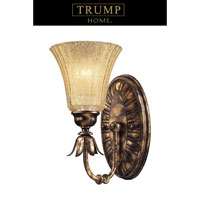 ELK Lighting Bedminster 1 Light Sconce in Burnt Gold Leaf 2449/1