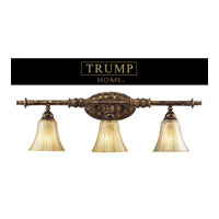 ELK Lighting Bedminster 3 Light Vanity in Burnt Gold Leaf 2452/3