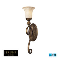 ELK Lighting Briarcliff 1 Light Wall Sconce in Weathered Umber 2470/1-LED
