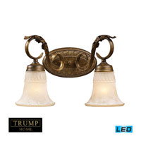 ELK Lighting Trump Home Westchester Briarcliff 2 Light LED Bathbar in Weathered Umber 2471/2-LED