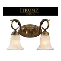 ELK Lighting Trump Home Westchester Briarcliff 2 Light Vanity in Weathered Umber 2471/2