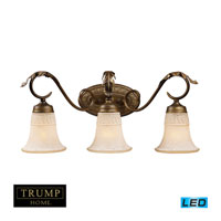 ELK Lighting Briarcliff 3 Light Bath Bar in Weathered Umber 2472/3-LED