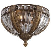 ELK 2493/4 Millwood 4 Light 15 inch Antique Bronze Flush Mount Ceiling Light