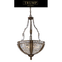 ELK Lighting Millwood 6 Light Pendant in Antique Bronze 2495/6